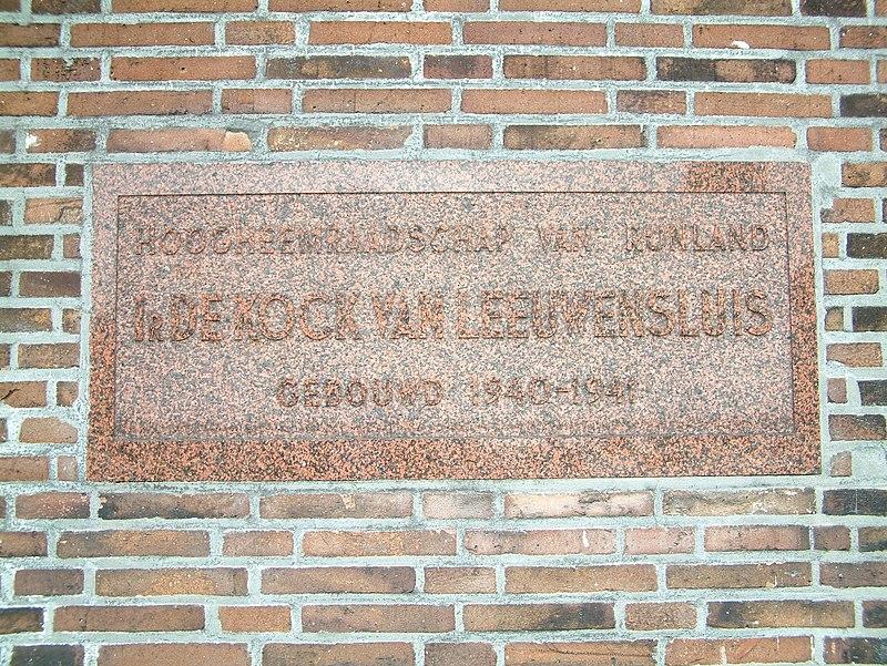 Fabulous Ir. De Kock van Leeuwensluis in Gouda | Monument - Rijksmonumenten.nl NI-12