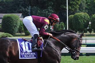 Irad Ortiz Jr. - Irad Ortiz Jr. at Saratoga in 2015