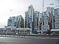 Irkutsk. February 2013. Cinema Barguzin, regional court, bus stop Volga, Diagnostic Center. - panoramio (22).jpg