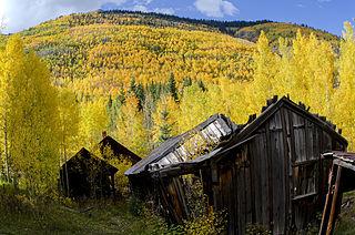 Ironton, Colorado Ghost town in Ouray County, Colorado