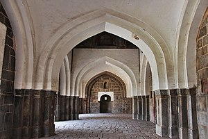 Isa Khan Niazi - Interiors of the Mosque of Isa Khan.