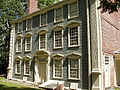 Isaac Royall House, Medford, Massachusetts - West (rear) facade.JPG