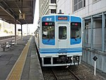 Ise Railway III series 101 at Tsu Station.jpg
