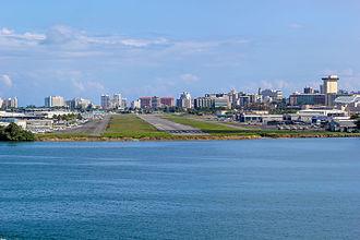 Fernando Luis Ribas Dominicci Airport - Image: Isla Grande Airport (SIG), San Juan, Puerto Rico (12173864883)