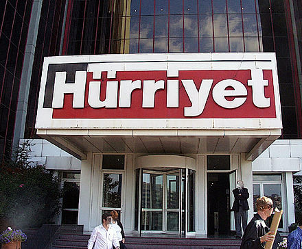 Established in 1948, Hürriyet is one of Turkey's most circulated newspapers. Istanbul -Hürriyet- 2000 by RaBoe 02.jpg