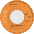 It's No Game (No. 1) by David Bowie Japan vinyl single.png