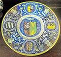 Italia centrale, piatto con stemmi gentilizi, 1500-1550 ca.JPG