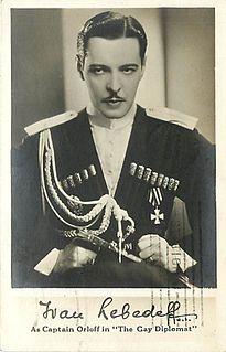 Ivan Lebedeff Russian actor
