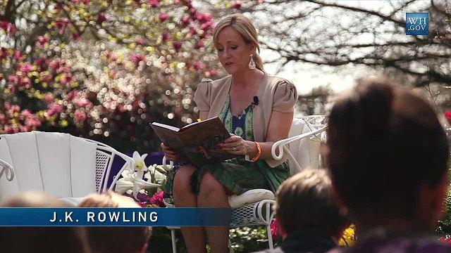 Rowling im Weißen Haus