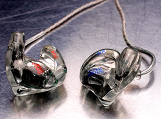 In-ear monitor - JH Audio custom-molded IEMs (JH16 Pro)