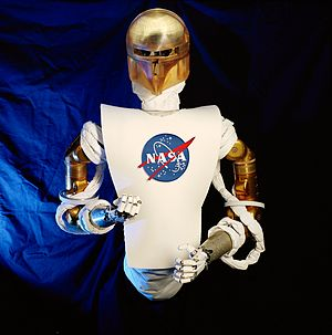 Kinematic chain - The arms, fingers and head of the JSC Robonaut are modeled as kinematic chains.