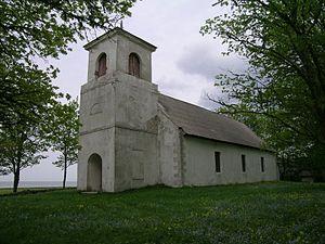 Jaani, Estonia - Saaremaa St. John's church in Jaani.