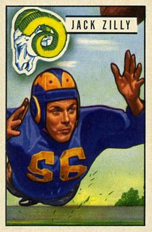 Jack Zilly - Image: Jack Zilly 1951Bowman