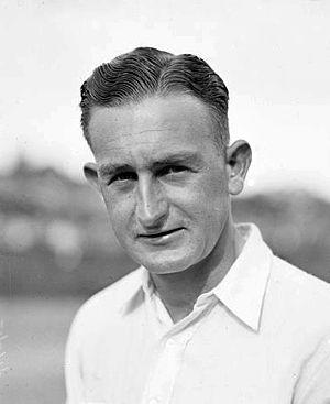 Jack Crawford (tennis) - Image: Jack Crawford c 1930s