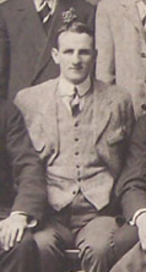 Jack Jones (rugby player) - Jack Jones with the British Isles team in 1910
