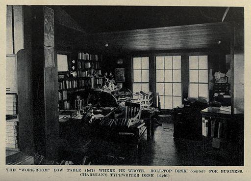 Jack London's Work-Room