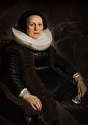 Jacob Adriaensz. Backer - Portrait of a Woman KMS3713.jpg