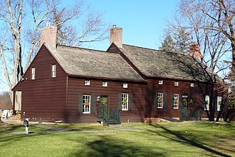 Jacobus Vanderveer House - Image: Jacobus Vanderveer House, Bedminster, NJ, south view