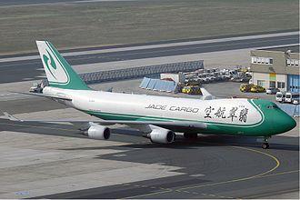 Jade Cargo International - Jade Cargo International Boeing 747-400ERF in 2011.