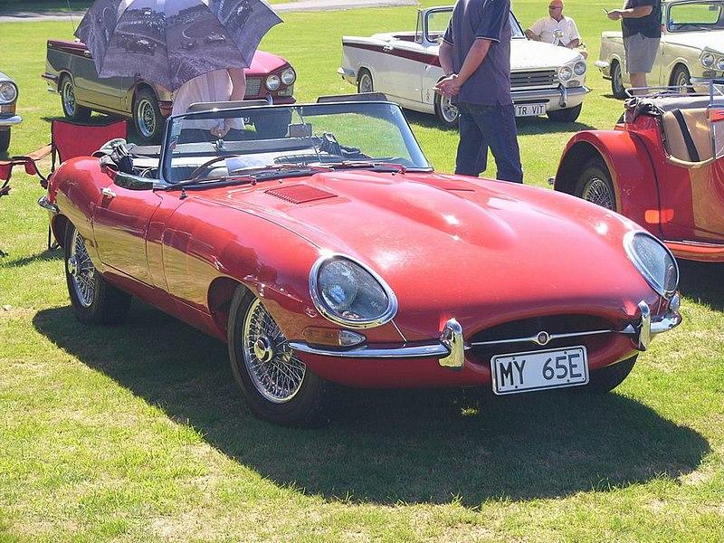 File:Jaguar 1965 E-Type Convertible.jpg