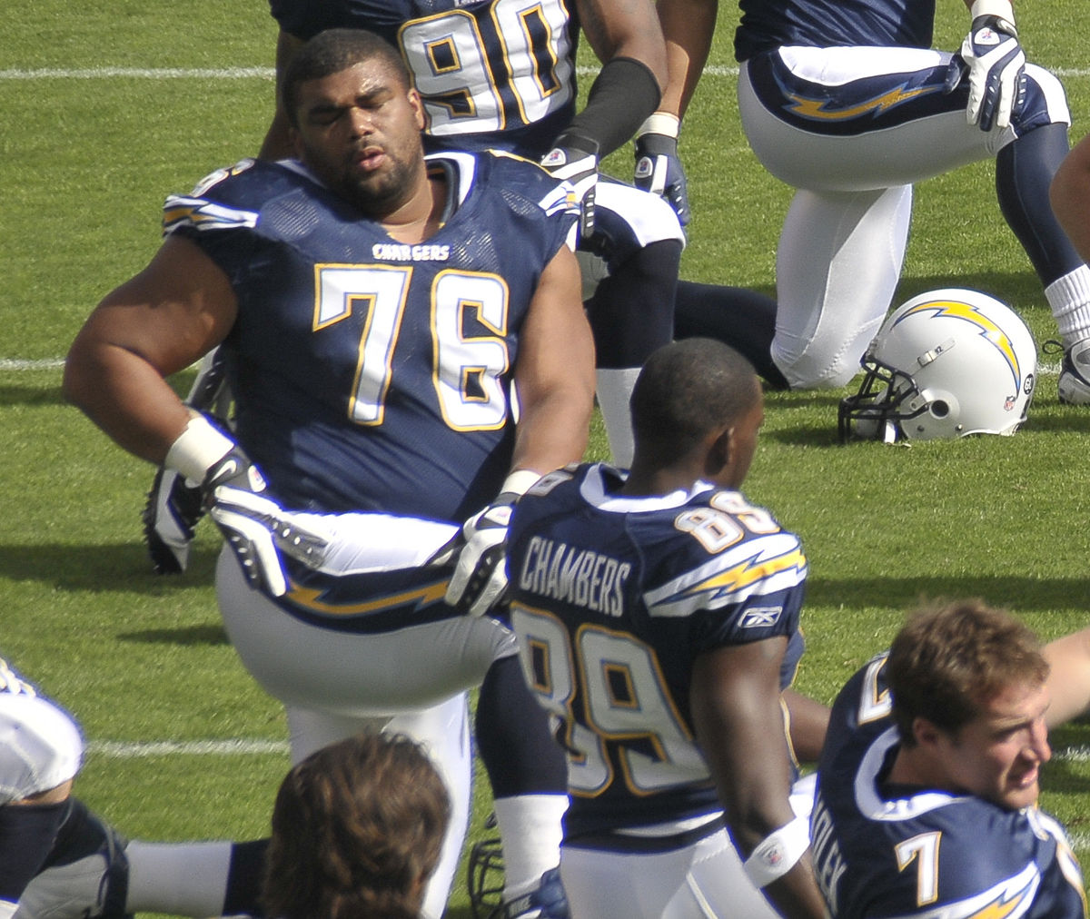 San Diego Chargers Game Stats: Jamal Williams
