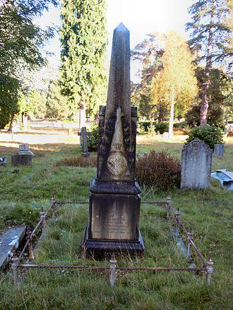 James Brunlees - Brunlees' grave in Brookwood Cemetery