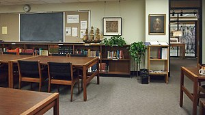 James Ford Bell Library - A reading room at the James Ford Bell Library
