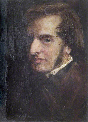 James Smetham - Self portrait (1855)