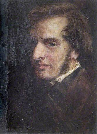 James Smetham - Self portrait (1855)