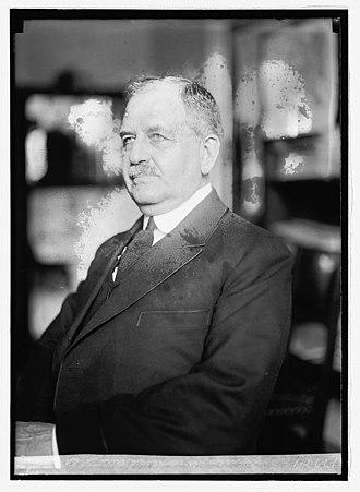 James Wickersham - James Wickersham Portrait photo, 1921-1922
