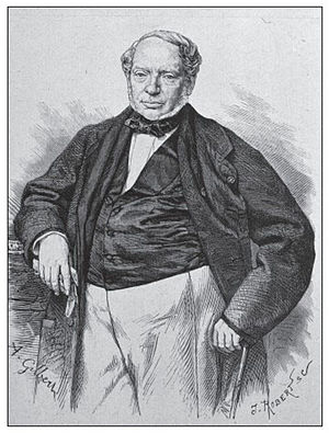 First Carlist War - James (Jacob) Rothschild, head of the French branch of the family