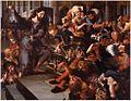 Jan Sanders van Hemessen - Christ driving the money changers from the temple.JPG
