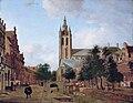 Jan van der Heyden - The Oude Kerk on the Oude Delft in Delft.jpg