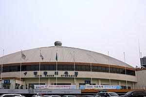 Jangchung Arena - Jangchung Gymnasium before remodeling