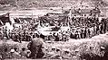 Japanese soldier, prisoner of war, wrestling Fortepan 85316.jpg