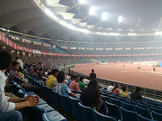 Jawaharlal Nehru Stadium (Delhi) Sports stadium in New Delhi, India