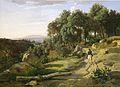 Jean-Baptiste-Camille Corot - Vue près de Volterra (1838).jpg