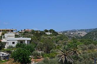 Jeddayel - Jeddayel hills