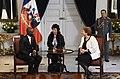 Jefa de Estado recibe las Cartas Credenciales de nuevos embajadores (27696375265).jpg