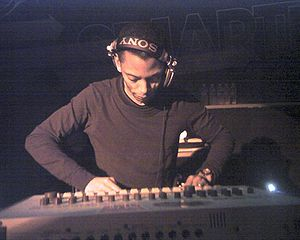 Jeff Mills at Smartbar in Chicago on Friday Ap...