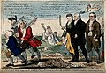 Jenner and his two colleagues seeing off three anti-vaccinat Wellcome V0011075.jpg