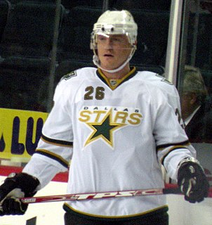 Jere Lehtinen Finnish ice hockey player