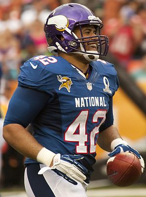 Jerome Felton - Felton at the 2013 Pro Bowl
