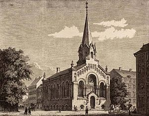 Jerusalem's Church, Copenhagen - The original which was somewhat simplified prior to its completion