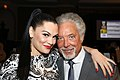 Jessie J & Tom Jones at the Silver Clef Awards 2012.jpg