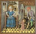 Jesus in a baby walker from the Hours of Catherine of Cleves.jpg