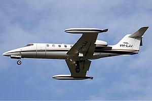 Jet City Bombardier Learjet 35A DRW Butler.jpg