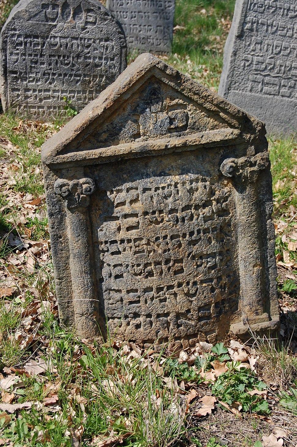 Jewish cemetery Sobědruhy 06
