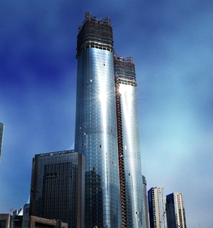 Jiangxi Nanchang Greenland Central Plaza - Image: Jiangxi Nanchang Greenland Central Plaza Towers, 2014