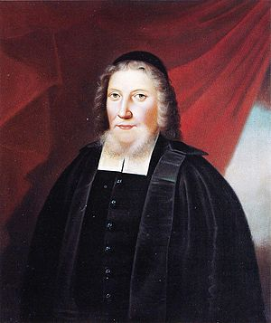 Johannes Gezelius the younger - Image: Johannes Gezelius den yngre, copy by Lindh